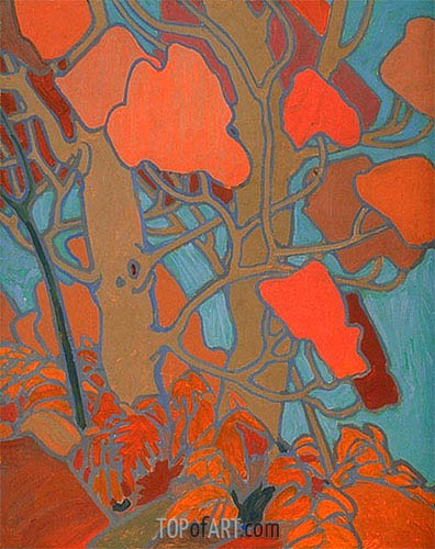 Decorative Panel II, c.1915/16 | Tom Thomson | Gemälde Reproduktion