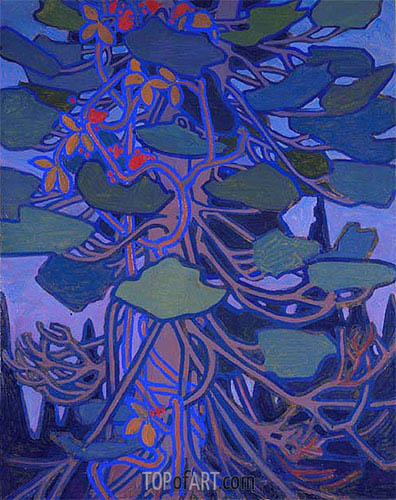 Decorative Panel I, c.1915/16 | Tom Thomson | Painting Reproduction