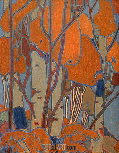 Decorative Panel III, c.1915/16 | Tom Thomson | Painting Reproduction