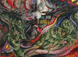 States of Mind I: The Farewells | Umberto Boccioni | Painting Reproduction