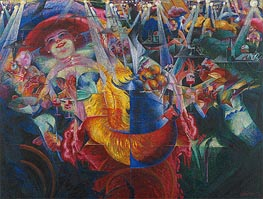 The Laugh | Umberto Boccioni | Painting Reproduction
