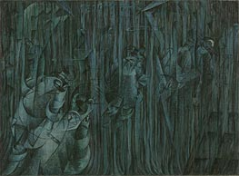 States of Mind III: Those Who Stay | Umberto Boccioni | Painting Reproduction