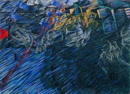 States of Mind II: Those Who Go | Umberto Boccioni | Painting Reproduction