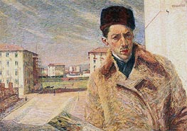 Self-Portrait | Umberto Boccioni | Painting Reproduction