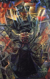 Matter, 1912 by Umberto Boccioni | Painting Reproduction