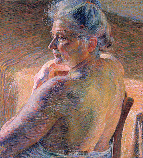 The Effect of Sunlight, 1909 | Umberto Boccioni | Painting Reproduction