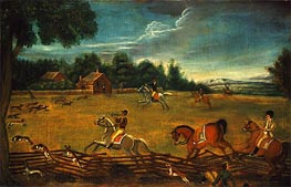 The End of the Hunt, c.1800 by Unknown Master | Painting Reproduction