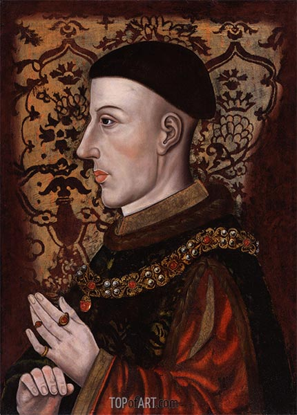 King Henry V, 16th c | Unknown Master | Painting Reproduction