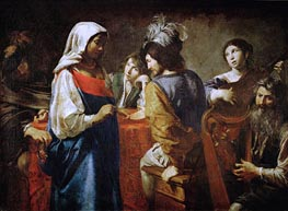 The Fortune Teller | Valentin de Boulogne | Painting Reproduction