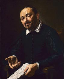 Rafaello Menicucci, c.1630/32 by Valentin de Boulogne | Painting Reproduction