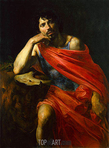 Samson, c.1630 | Valentin de Boulogne | Painting Reproduction