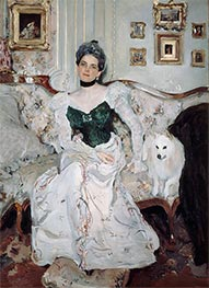 Portrait of Princess Zinaida Yusupova, 1902 by Valentin Serov | Painting Reproduction