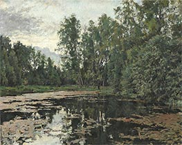The Overgrown Pond, Domotcanovo | Valentin Serov | Painting Reproduction