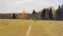 Autumn, Domotcanovo, 1892 by Valentin Serov | Painting Reproduction
