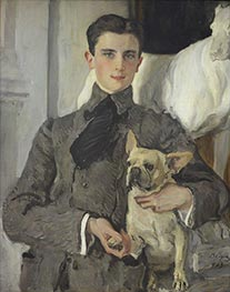 Portrait of Count Felix Sumarokov-Elstone, 1903 by Valentin Serov | Painting Reproduction