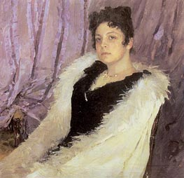 Portrait of Zinaida Moritz | Valentin Serov | Painting Reproduction