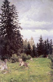 Fir Tree, 1890 by Valentin Serov | Painting Reproduction