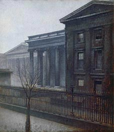 From the British Museum. Winter, 1906 von Hammershoi | Gemälde-Reproduktion