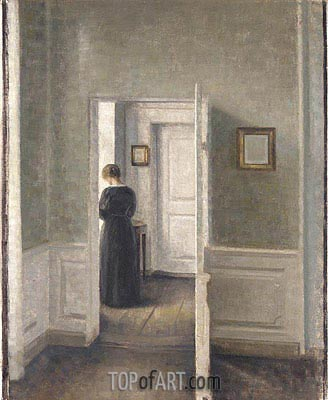 Vilhelm hammershoi paintings