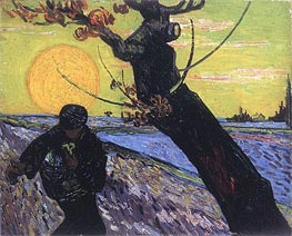 The Sower | Vincent van Gogh | Painting Reproduction