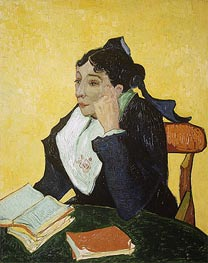 L'Arlesienne: Madame Joseph-Michel Ginoux, c.1888/89 by Vincent van Gogh | Painting Reproduction