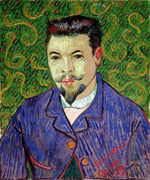 Portrait of Doctor Felix Rey | Vincent van Gogh | Painting Reproduction