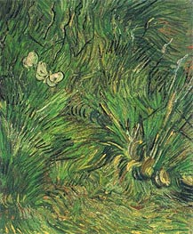 Two White Butterflies | Vincent van Gogh | Painting Reproduction