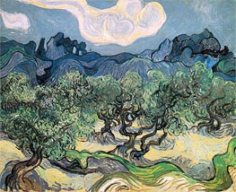 The Olive Trees, 1889 von Vincent van Gogh | Gemälde-Reproduktion