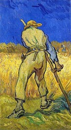 The Reaper (after Millett), 1889 von Vincent van Gogh | Gemälde-Reproduktion