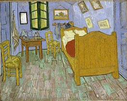 Vincent's Bedroom in Arles, 1889 von Vincent van Gogh | Gemälde-Reproduktion