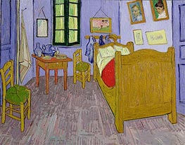 Van Gogh's Bedroom at Arles, 1889 von Vincent van Gogh | Gemälde-Reproduktion