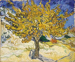 The Mulberry Tree, 1889 by Vincent van Gogh | Painting Reproduction