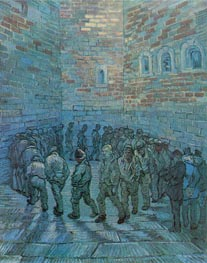 Prisoners Exercising (after Dore), 1890 by Vincent van Gogh | Painting Reproduction