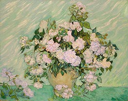 Roses, 1890 by Vincent van Gogh | Painting Reproduction