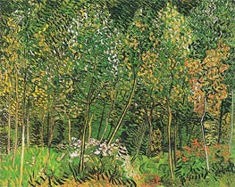 The Grove, 1890 by Vincent van Gogh | Painting Reproduction