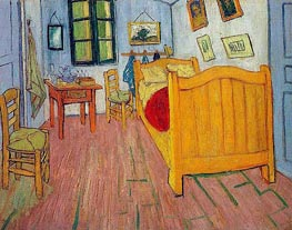 Vincent's Bedroom in Arles, 1888 by Vincent van Gogh | Painting Reproduction