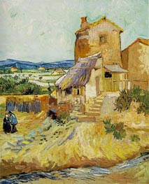 The Old Mill, 1888 by Vincent van Gogh | Painting Reproduction