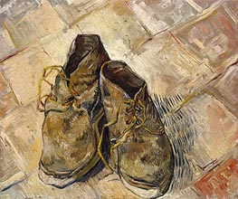 A Pair of Shoes | Vincent van Gogh | Gemälde Reproduktion