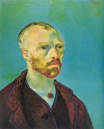 Self-Portrait (Dedicated to Paul Gauguin), September by Vincent van Gogh | Painting Reproduction