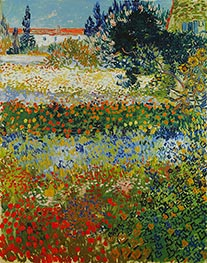 Flowering Garden | Vincent van Gogh | Painting Reproduction