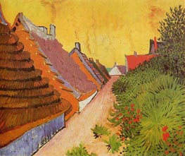 Street in Saintes-Maries | Vincent van Gogh | Gemälde Reproduktion