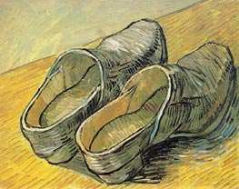 A Pair of Leather Clogs | Vincent van Gogh | Painting Reproduction