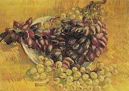 Still Life with Grapes | Vincent van Gogh | Painting Reproduction