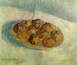 Basket of Apples (to his friend Lucien Pissarro) | Vincent van Gogh | Painting Reproduction