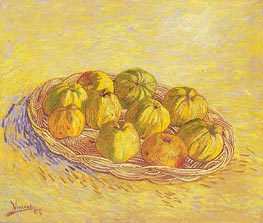 Still Life with Basket of Apples | Vincent van Gogh | Painting Reproduction