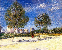 The Outskirts of Paris | Vincent van Gogh | Painting Reproduction