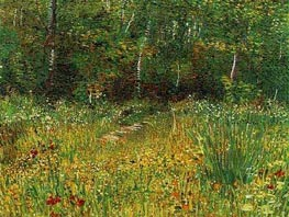 Park at Asnieres in Spring | Vincent van Gogh | Painting Reproduction