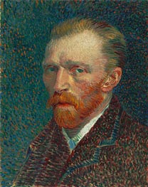 Self-Portrait, 1887 by Vincent van Gogh | Painting Reproduction
