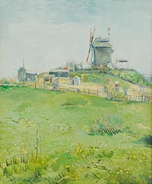 Le Moulin de la Galette, March 1887 von Vincent van Gogh | Gemälde-Reproduktion