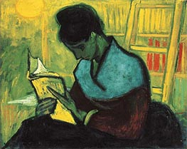 Roman's Reader, 1888 by Vincent van Gogh | Painting Reproduction